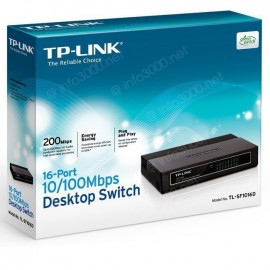 TP-Link Switch 16 Ports 10/100 Mbps