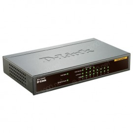 Switch D-Link 8 ports 10/100 Mbps dont 4 PoE