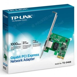 TP-Link Carte Réseau PCI Express Gigabit Ethernet