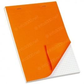 Bloc note petits carreaux - format A4 - 100 pages