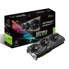 Asus Carte graphique GeForce® GTX 1070 STRIX O8Go GDDR5