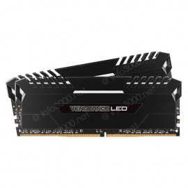 Kits de mémoire Vengeance® LED 16 Go (2 x 8 Go) DDR4 DRAM 3 000 MHz C15 - LED blanc