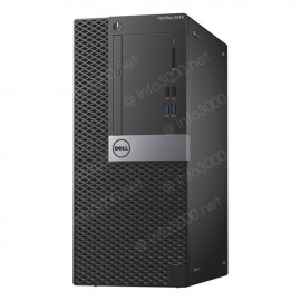 Pc de bureau DELL OPTIPLEX 3040MT i3 6è Gén 4Go 500Go