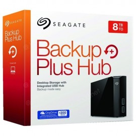 Disque Dur Externe Seagate Backup Plus Hub 8 To - USB 3.0
